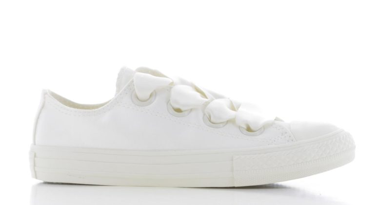Converse Chuck Taylor All Star Big Eyelet - Ox - Wit Kinderen