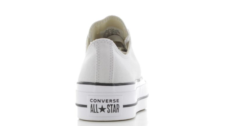81aaf390f6e Converse Chuck Taylor All Star Platform Beige/Wit | Sneakers.nl