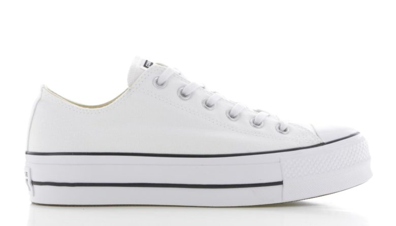 217e9c2f846 Converse Chuck Taylor All Star Lift Ox Wit Dames | 560251C | Sneakers.nl