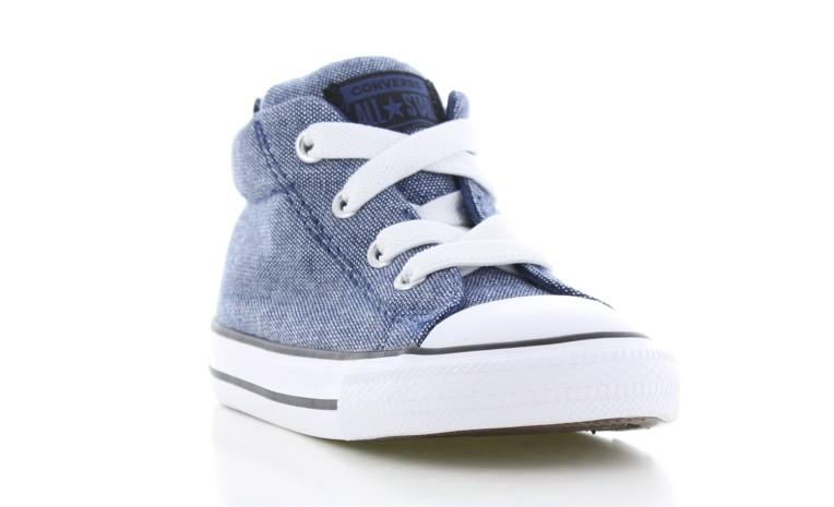 dc1c338026e Converse All Star Mid Blauw Peuters | 764245C | Sneakers.nl