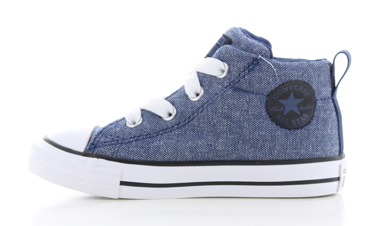 dfe8647e460 Converse All Star Mid Blauw Peuters | 764245C | Sneakers.nl