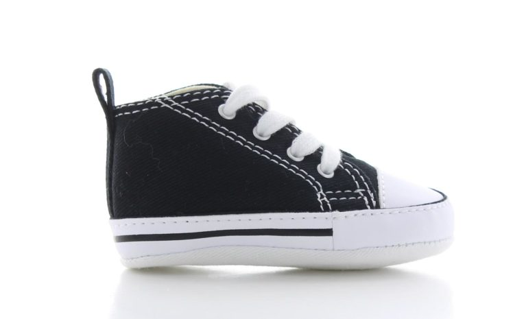 Converse First Star Hi Zwart Baby