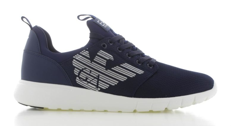 Emporio Armani Simple Racer U Blauw Heren