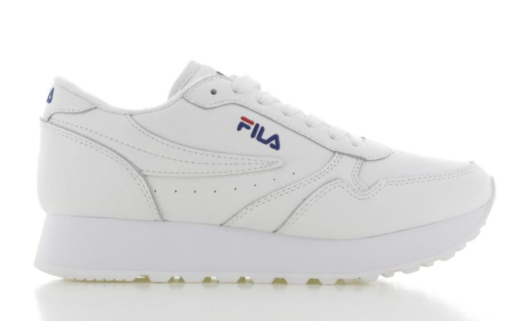 Fila Orbit Zeppa Wit Dames