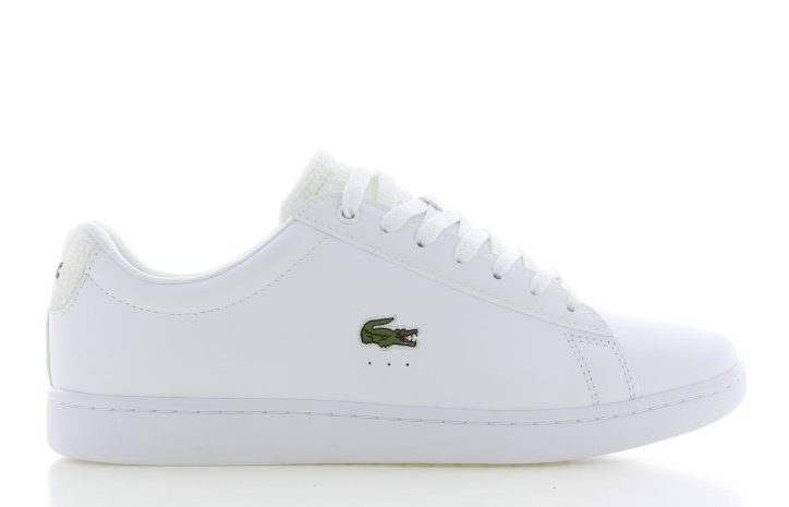 Lacoste Carnaby Evo Wit Heren