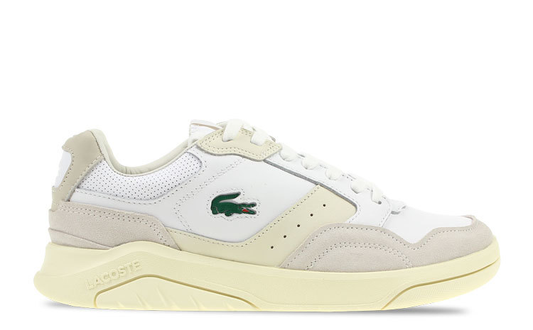 Lacoste Game Advance Luxe Wit Heren