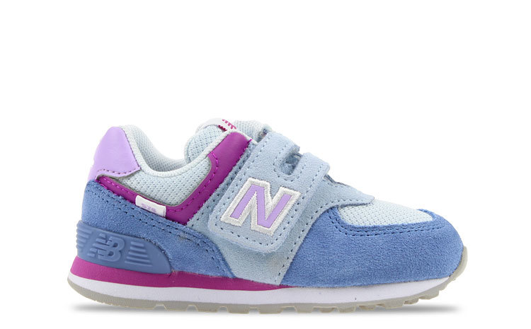 New Balance 574 Blauw/Paars Peuters