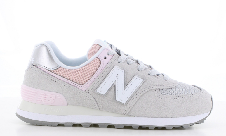 New Balance WL 574 Grijs/Rose Dames