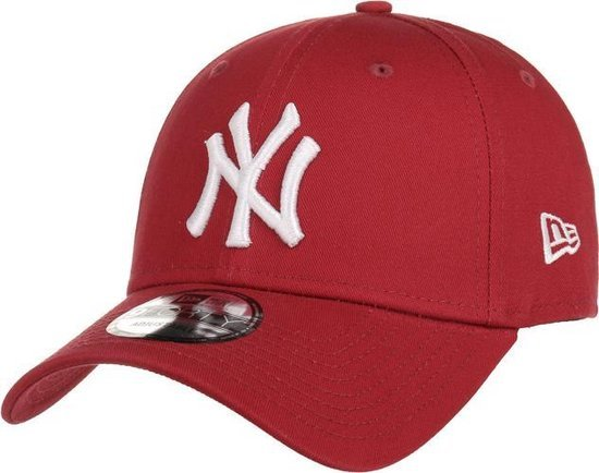 New era NY Cap Bordeaux