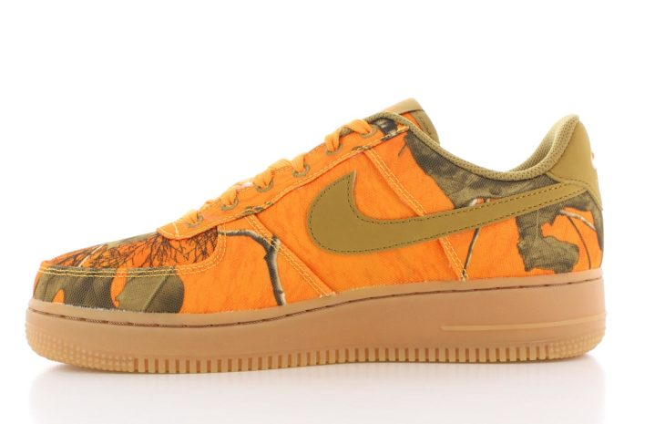 Nike Air Force 1 '07 LVB 3 Oranje Dames