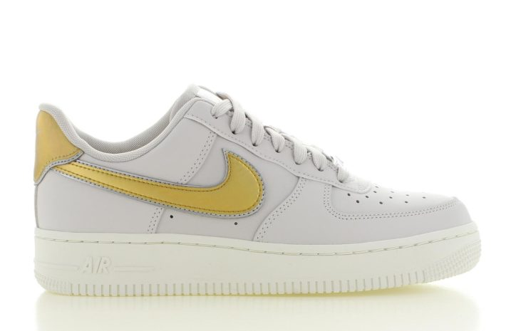 Nike  Air Force 1 '07 Metallic Wit Dames