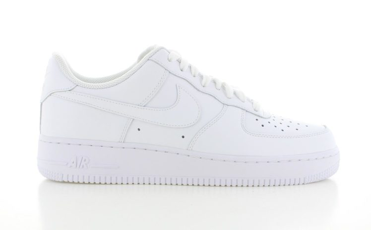 new concept 4fbe7 e85b9 Nike Air Force 1 Low Wit Heren