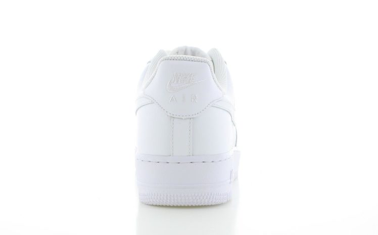 new concept ff5c1 82493 Nike Air Force 1 Low Wit Heren