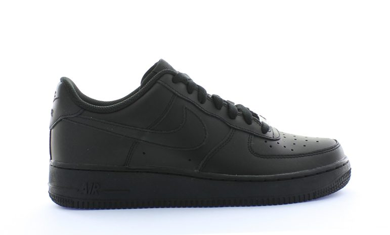 size 40 0071e 2ef4d Nike Air Force 1 Low Zwart