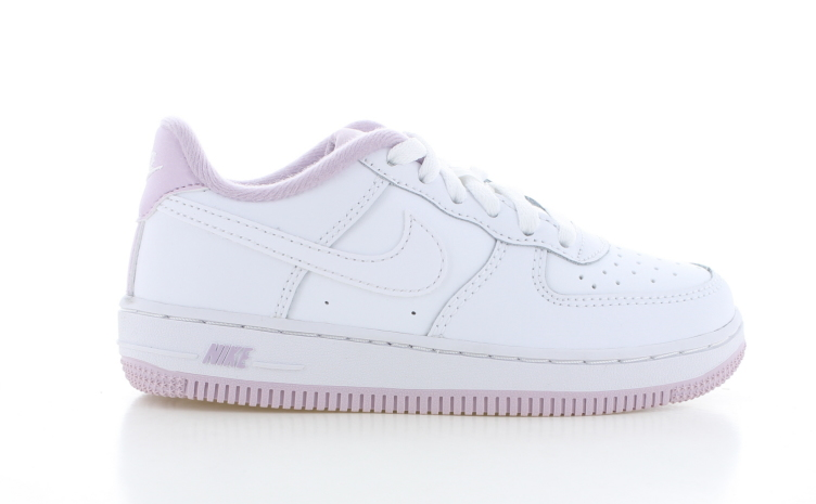 Nike Air Force 1 Wit/Roze Peuters