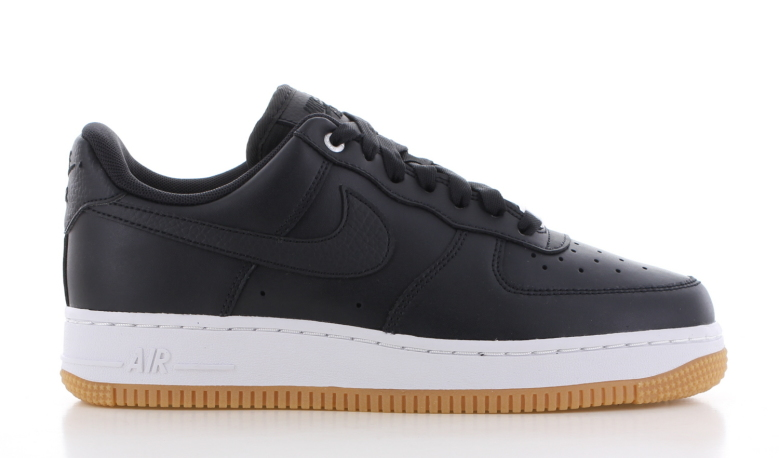 Nike Air Force Premium Zwart Dames