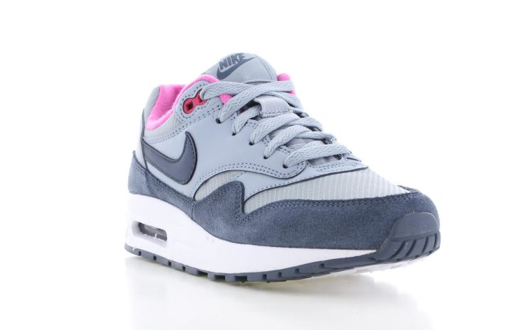 343fc27a864 Nike Air Max 1 Blauw/Roze | 807605-400 | Sneakers.nl