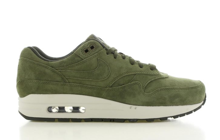 nike air max 1 groen heren