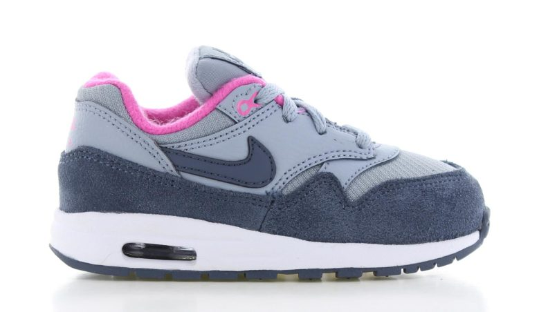 reputable site 1b303 18649 Nike Air Max 1 TD Grijs Kinderen