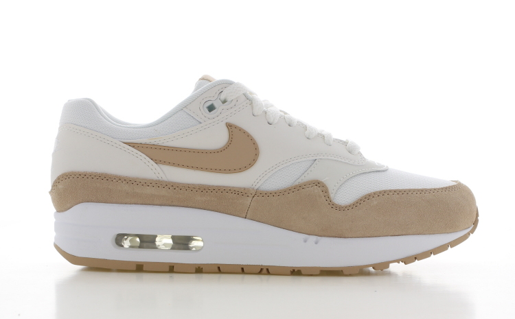 Nike Air Max 1 Wit/Beige Dames