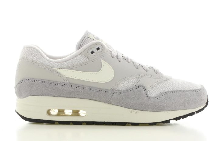 best sneakers 24f8d 89688 Nike Air Max 1 Wit Grijs Heren