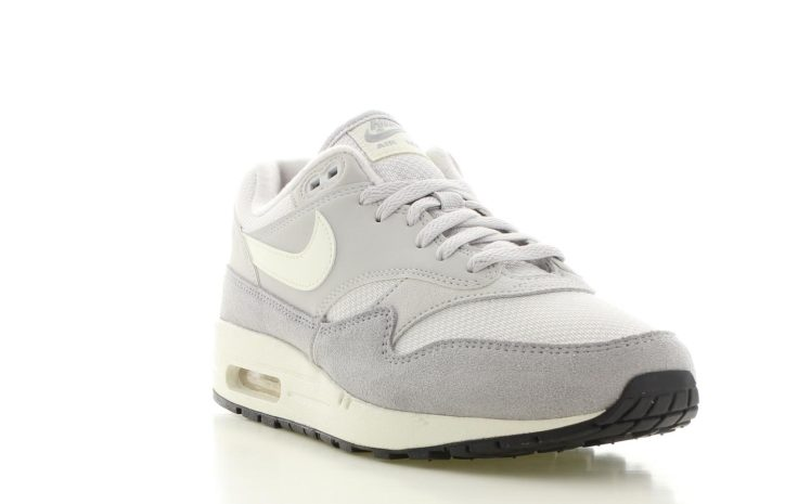 uk availability 1e453 16d00 Nike Air Max 1 WitGrijs Heren