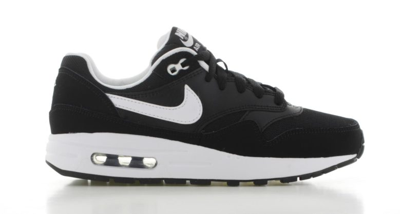 nike air max 1 heren zwart wit