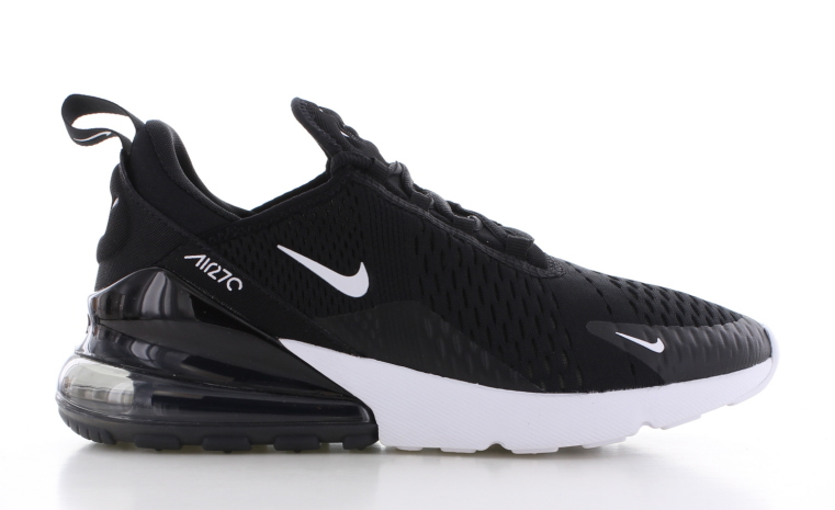 nike air max zwart en wit