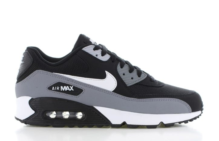 reputable site a729b 99105 Nike Air Max 90 Essential ZwartGrijs Heren
