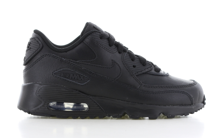 Nike Air Max 90 Leather PS Zwart Kinderen