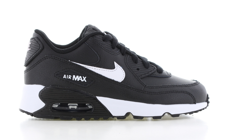 release date: 6dcc8 743b7 Nike Air Max 90 Leather PS Zwart Kinderen