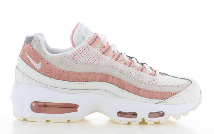 Nike Air Max 95 Dames WitRoze