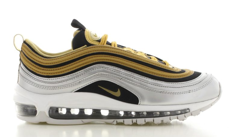 Nike Air Max 97 Special Edition Zilver/Goud Dames