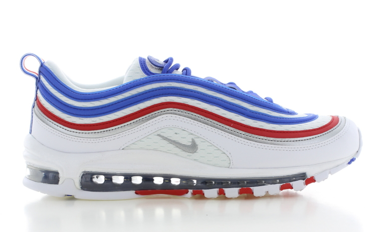 Nike Air Max 97 Wit/Rood/Blauw Heren