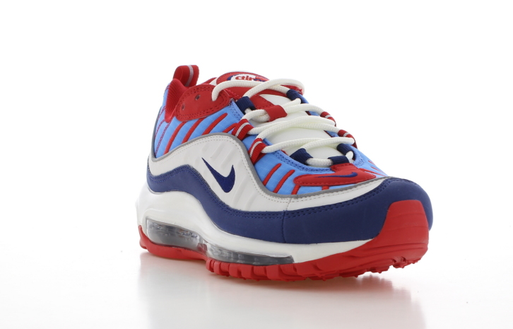 Nike Air Max 98 WitRoodBlauw Dames