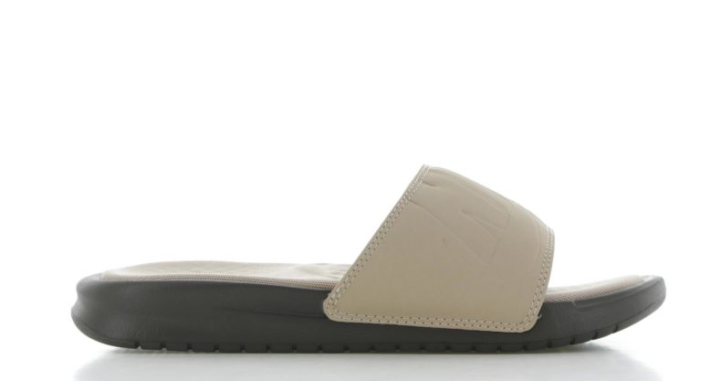 Nike Benassi Just Do It Ultra Lux Beige/Grijs