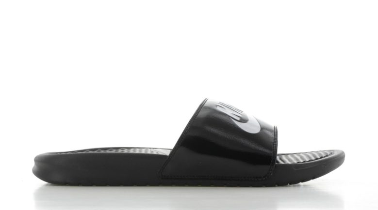 Nike Benassi 'Just Do It' Zwart-Wit Heren