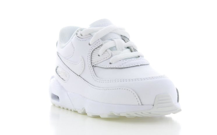 17f08eefee3 Nike Air Max 90 Leather Wit Baby's| 833416-100 | Sneakers.nl