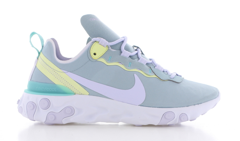 Nike React Element 55 Licht Blauw Dames