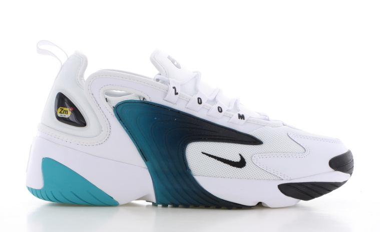 Nike Zoom 2K Wit/Blauw Heren