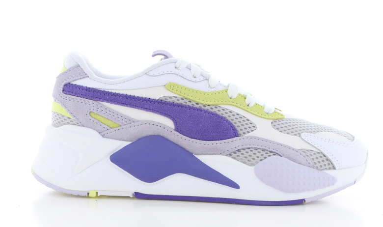 Puma RS-X ³ Mesh Pop Wit/Paars Dames