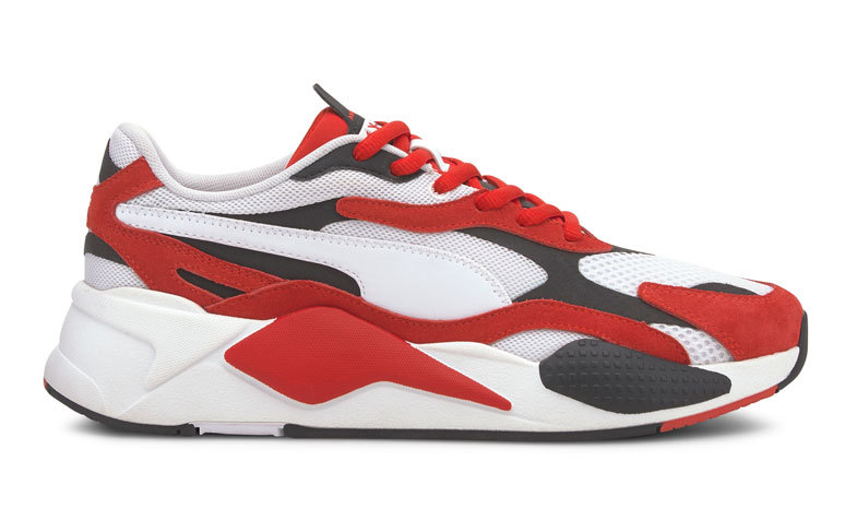 Puma RS-X Super Wit/Rood Dames