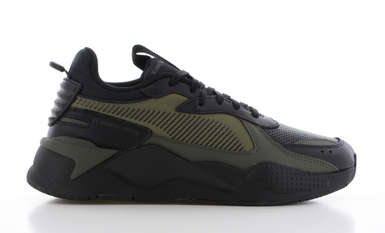 Puma RS-X Winterized Zwart/Groen Heren