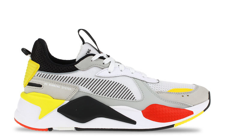 Puma RS-X Wit/Rood/Geel Heren