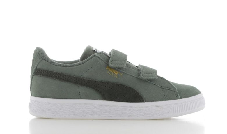668dc01cce9 PUMA Suede Classic PS Groen Kinderen | 363075-17 | Sneakers.nl