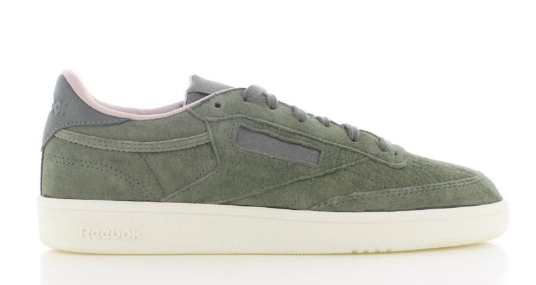 89d8bad691e Reebok Club C 85 W&W Olijf Dames | BS5191 | Sneakers.nl