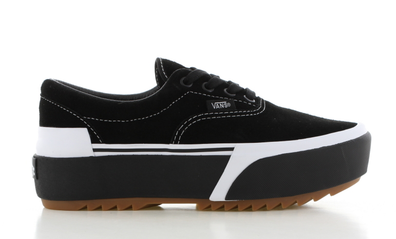 Vans Era Stacked Platform Zwart Dames