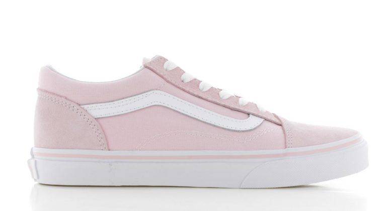 Vans Old Skool Roze Wit