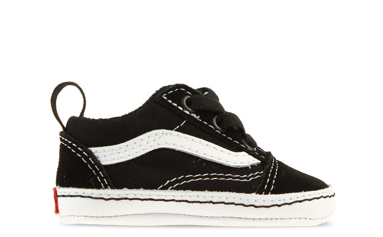 Vans Old Skool Zwart/Wit Crib Baby