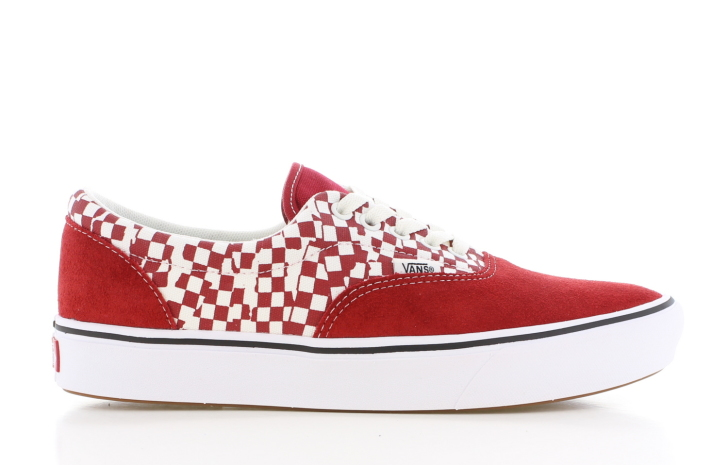 Vans UA ComfyCush Era Rood/Wit Heren